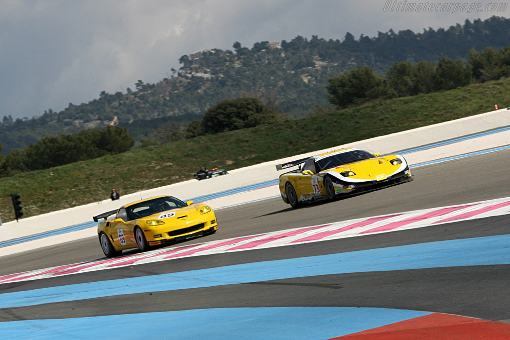Chevrolet Corvette C6 Z06 GT2 - Chassis: 1G1YY26E265114144   - Le Mans Series 2007 Season Preview