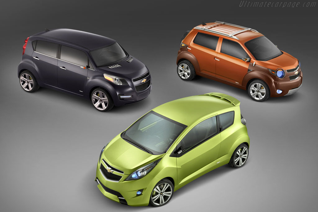 2007 Chevrolet Beat Concept Images Specifications And Information