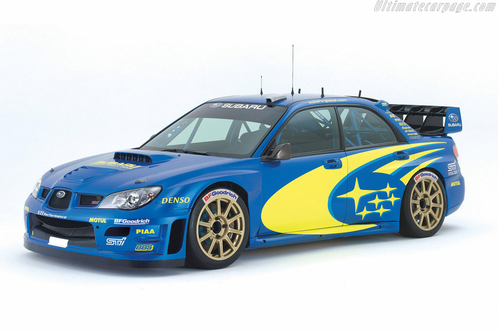 Click here to open the Subaru Impreza WRC2007 gallery