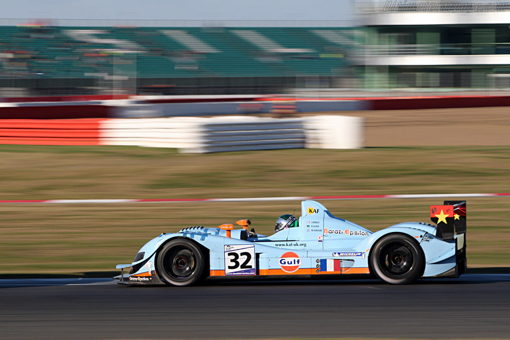 Zytek 07S/2 - Chassis: 07S-01   - 2007 Le Mans Series Silverstone 1000 km