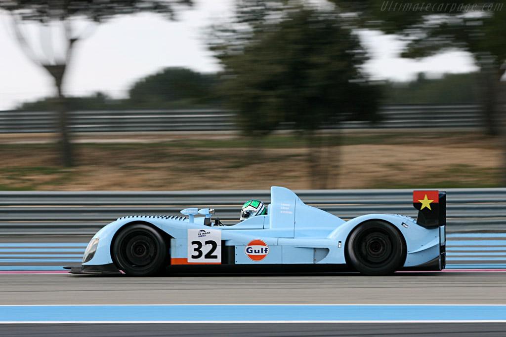 Zytek 07s 2 Chassis 07s 01 Le Mans Series 2007 Season Preview