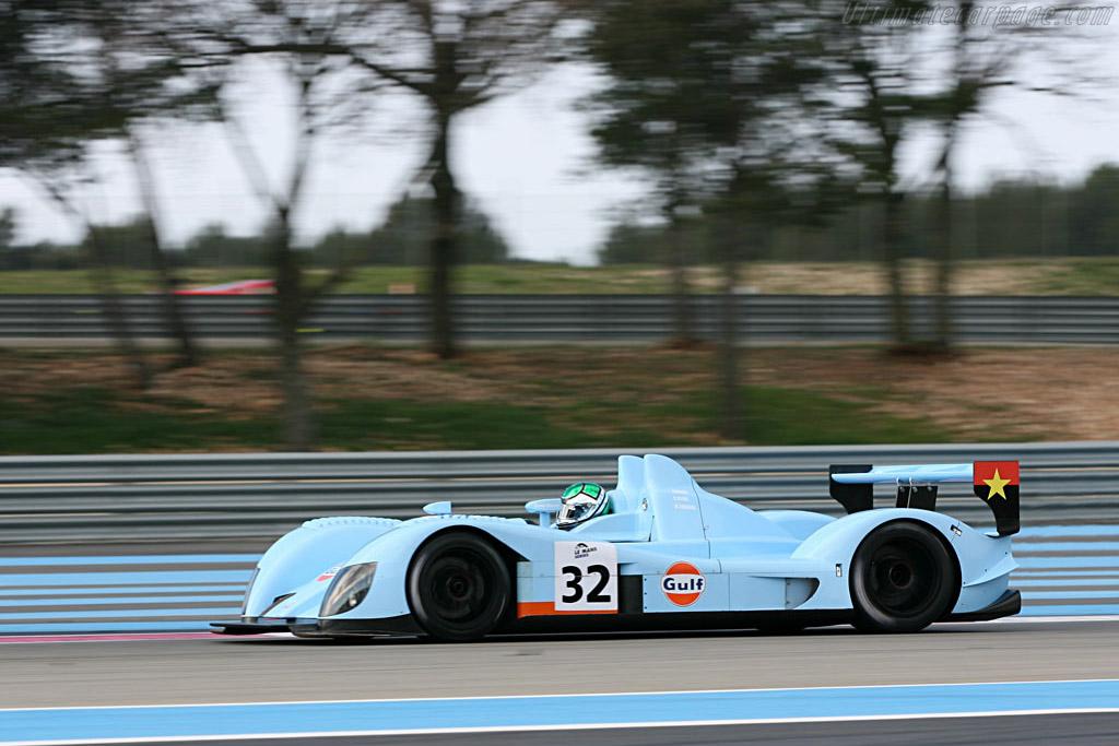 zytek 07s2 chassis 07s01 le mans series 2007 season