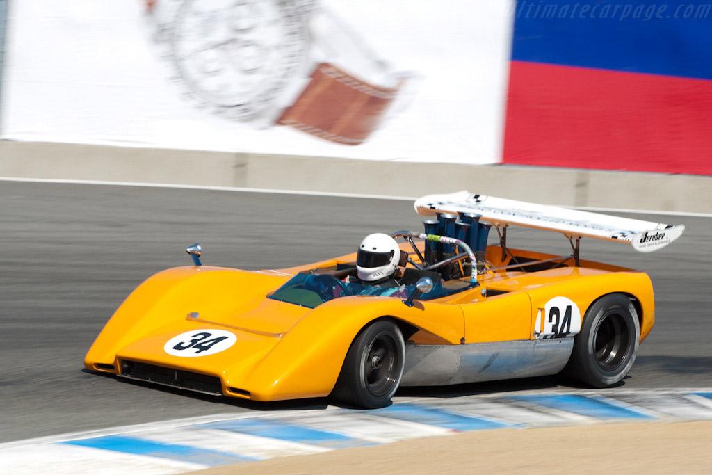 McLaren M8C Chevrolet - Chassis: M8C-70-10  - 2009 Monterey Historic Automobile Races