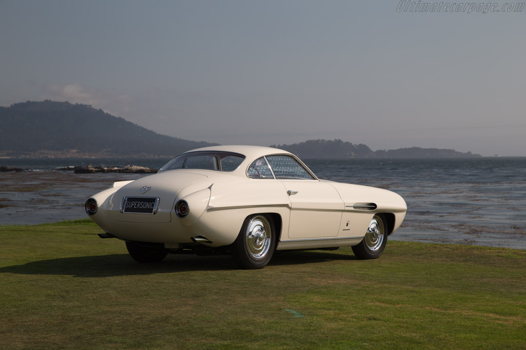 Fiat 8V Ghia Supersonic Coupe - Chassis: 106*000043   - 2017 Pebble Beach Concours d'Elegance