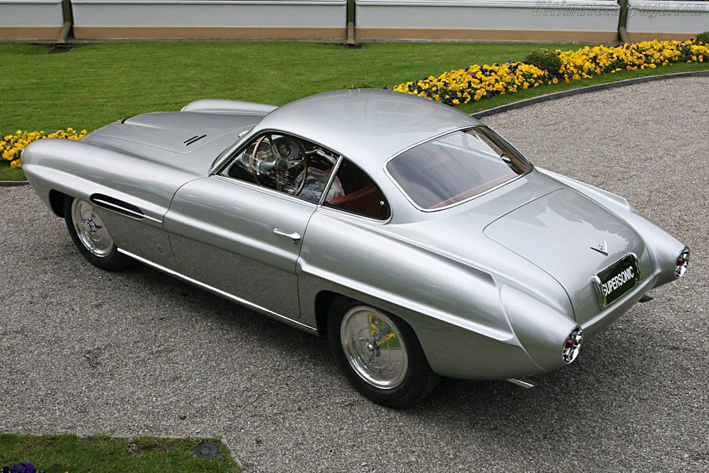 Fiat 8v Ghia Supersonic Coupe Chassis 106 000037 2007
