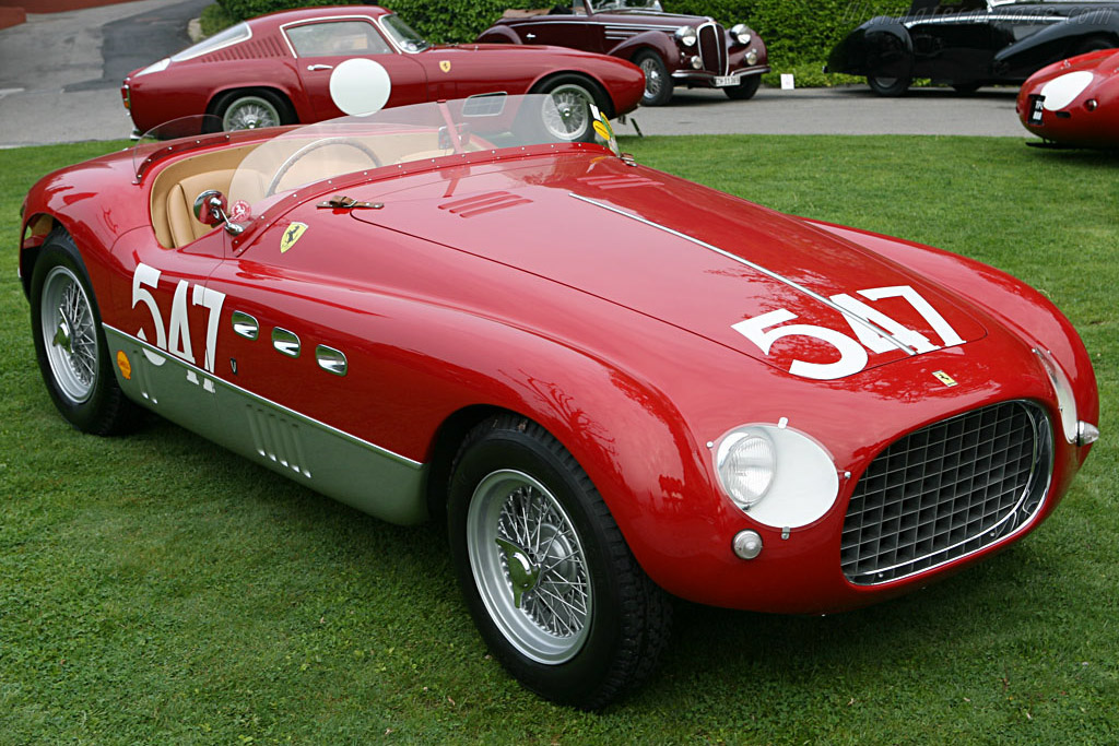 1953 ferrari 340 mm vignale spyder images specifications and information