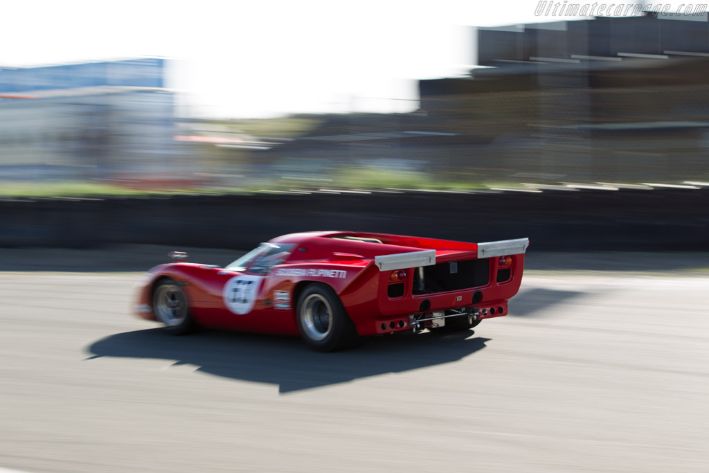 Lola T70 Mk3B Coupe Chevrolet - Chassis: SL76/145 - Driver: Marc Devis  - 2015 Historic Grand Prix Zandvoort