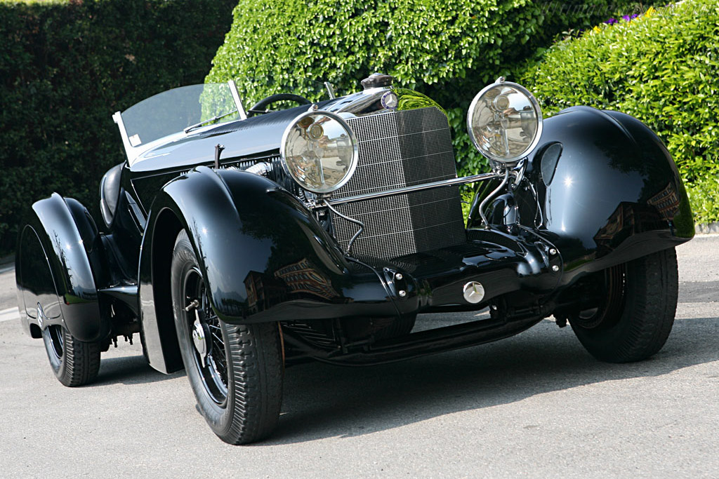 Click here to open the Mercedes-Benz 710 SSK 27/240/300 hp Trossi Roadster gallery