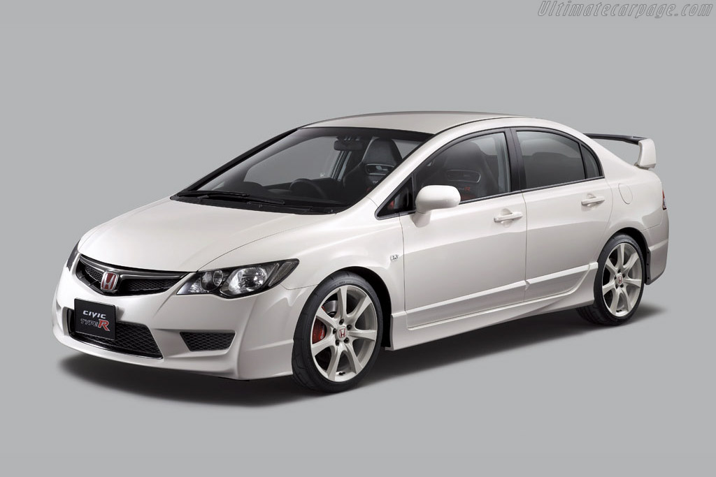 Click here to open the Honda Civic Type R Sedan gallery