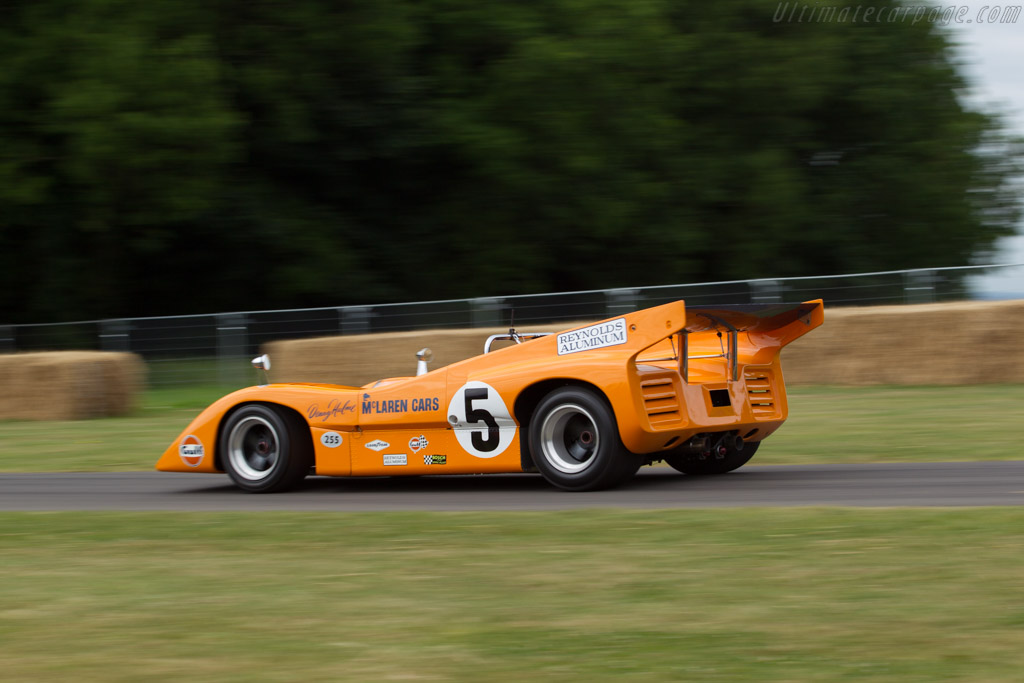 McLaren M8D Chevrolet - Chassis: M8D/1 - Driver: Nick de Vries  - 2017 Goodwood Festival of Speed