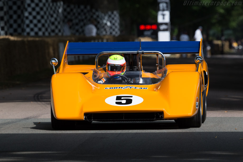 McLaren M8D Chevrolet - Chassis: M8D/1 - Driver: Oiliver Turvey  - 2017 Goodwood Festival of Speed