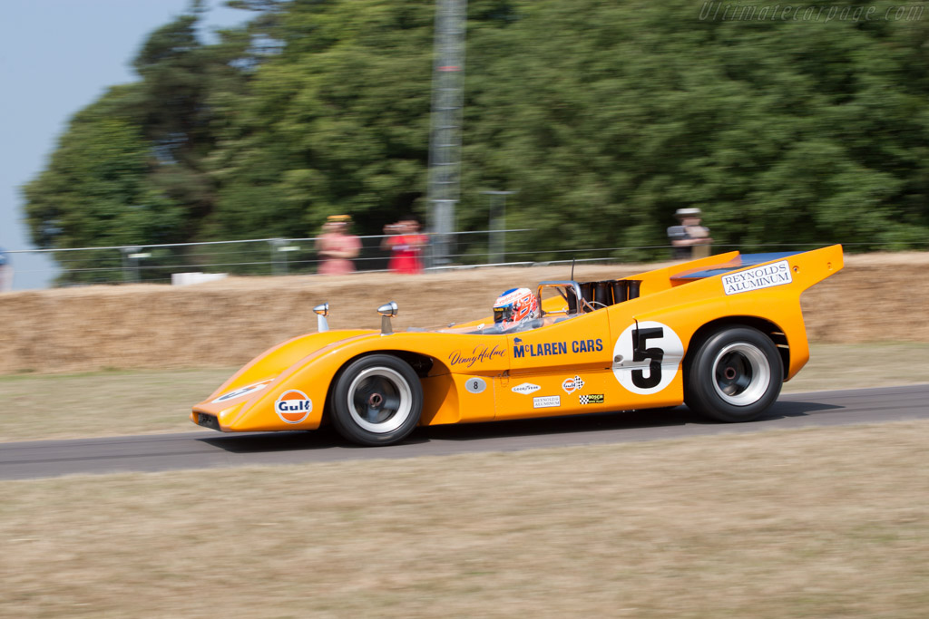 McLaren M8D Chevrolet - Chassis: M8D/1   - 2013 Goodwood Festival of Speed