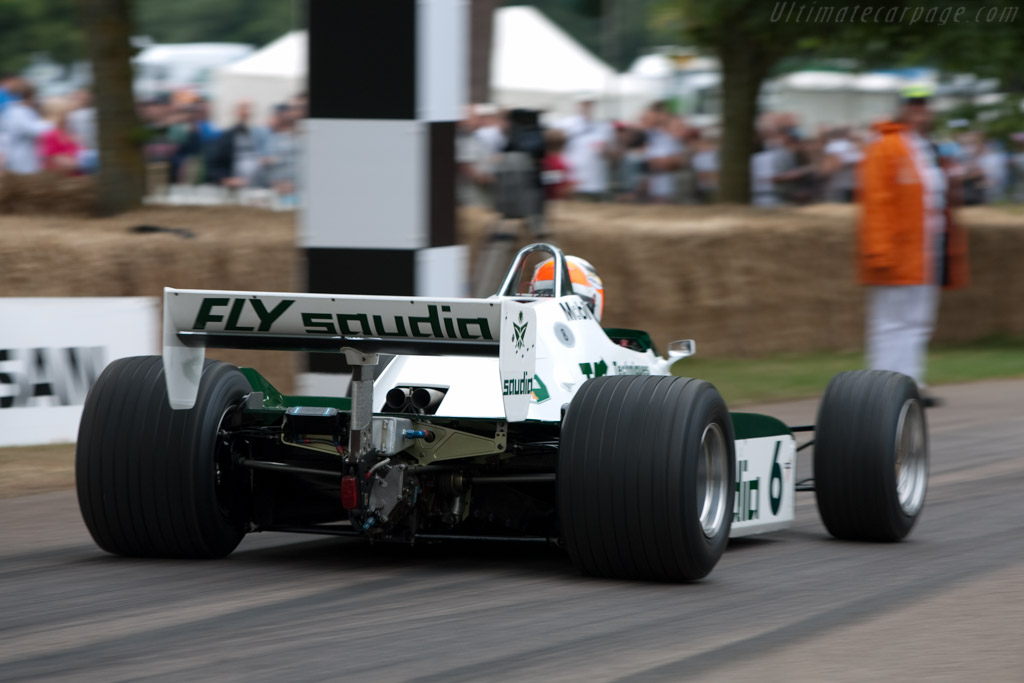 Williams FW08 Cosworth - Chassis: FW08-02   - 2009 Goodwood Festival of Speed