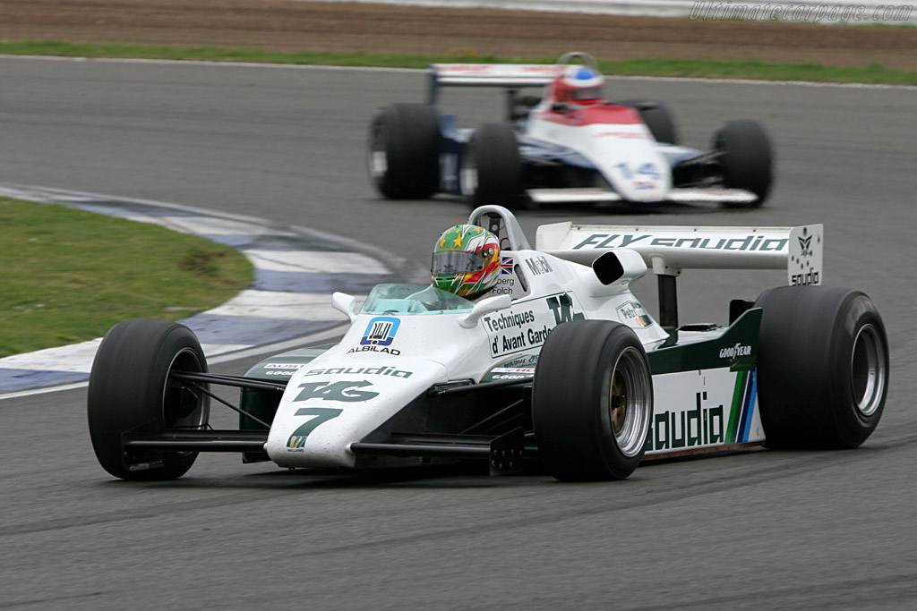 Williams FW08 Cosworth - Chassis: FW08-05   - 2005 Silverstone Classic