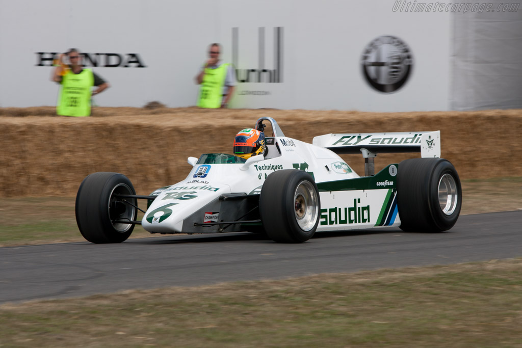 Williams FW08 Cosworth - Chassis: FW08-02 - Driver: Karun Chandhok  - 2010 Goodwood Festival of Speed