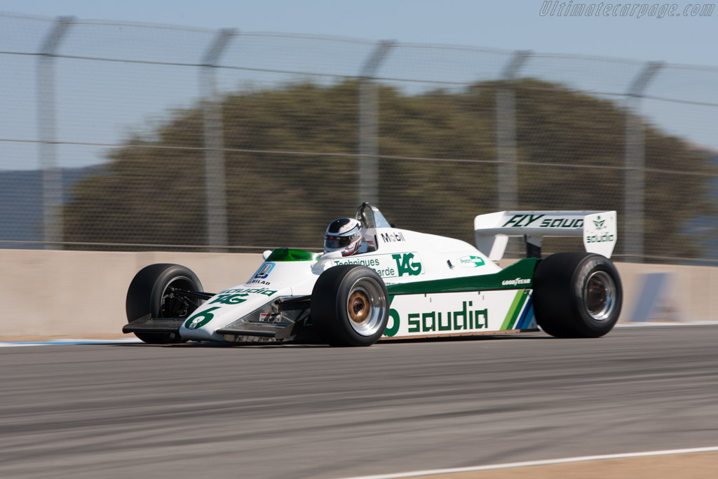 Williams FW08 Cosworth - Chassis: FW08-01   - 2010 Monterey Motorsports Reunion