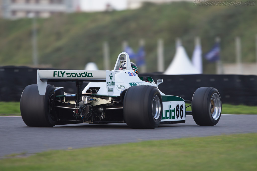 Williams FW08 Cosworth - Chassis: FW08-01   - 2014 Historic Grand Prix Zandvoort