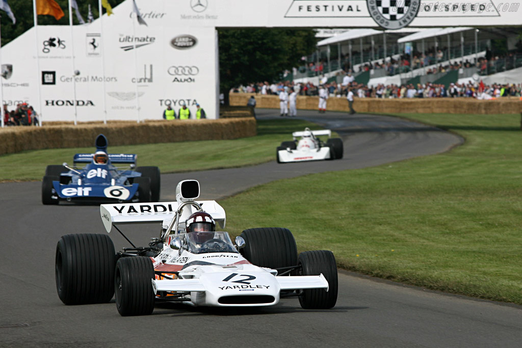 McLaren M19C Cosworth - Chassis: M19C-1   - 2007 Goodwood Festival of Speed