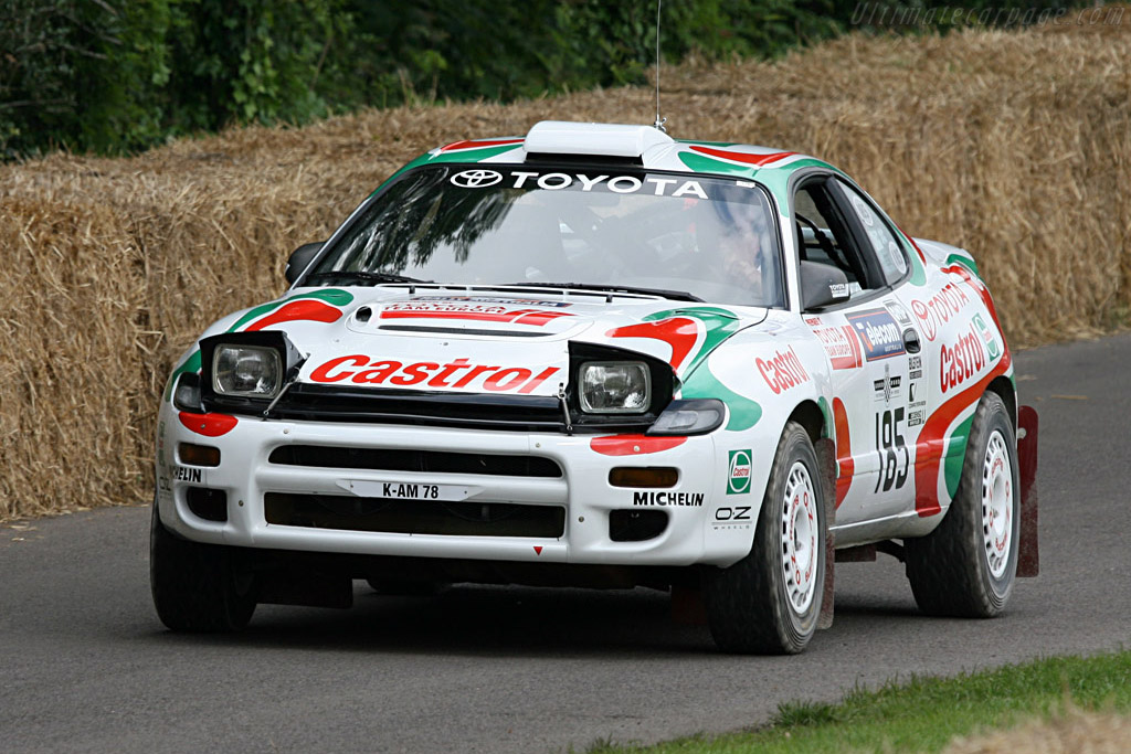 Toyota Celica GT-Four ST185    - 2007 Goodwood Festival of Speed