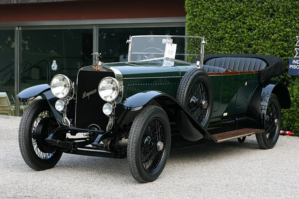 Click here to open the Hispano Suiza H6 Duvivier Tourer gallery