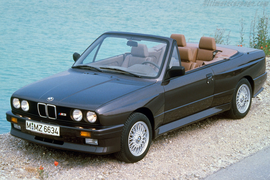 Click here to open the BMW M3 Cabriolet gallery