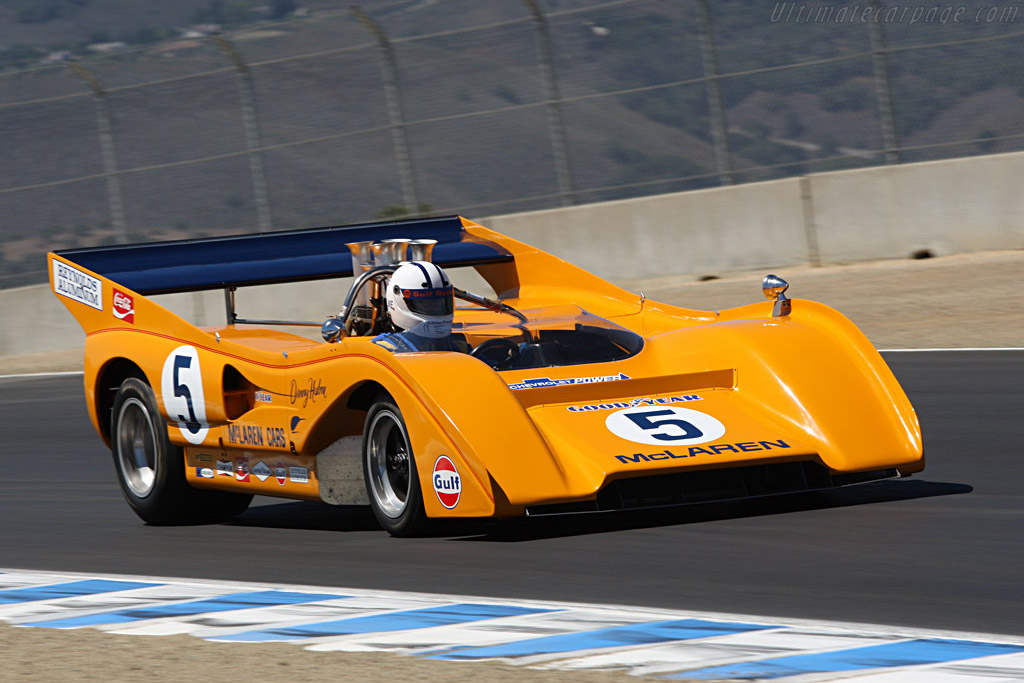 1971 McLaren M8F Chevrolet - Images, Specifications and Information