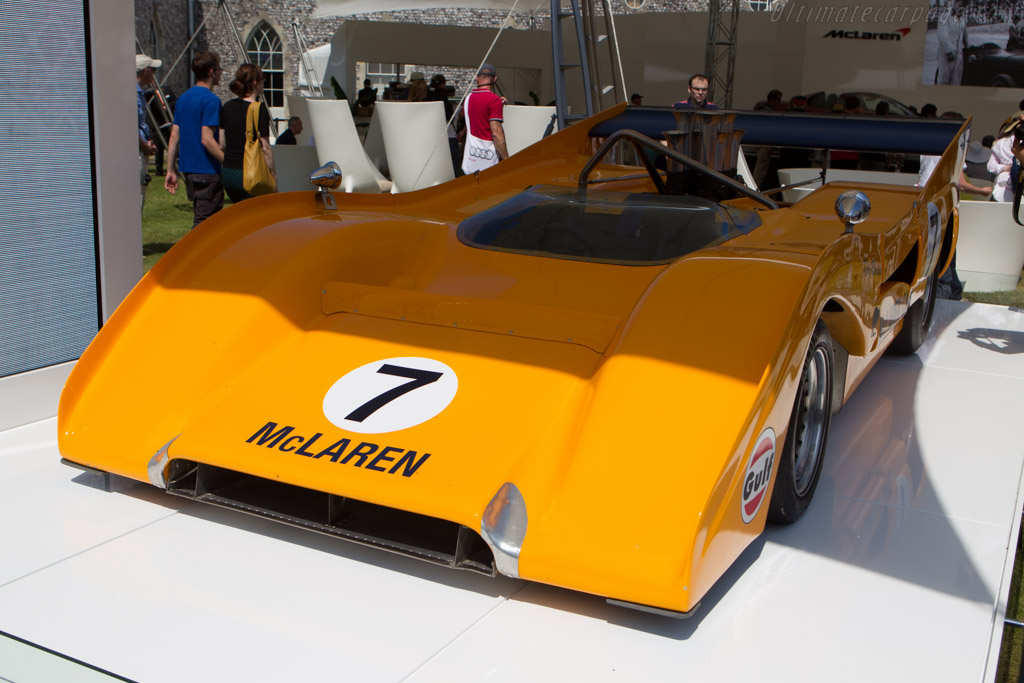 McLaren M8F Chevrolet - Chassis: M8F/1   - 2013 Goodwood Festival of Speed