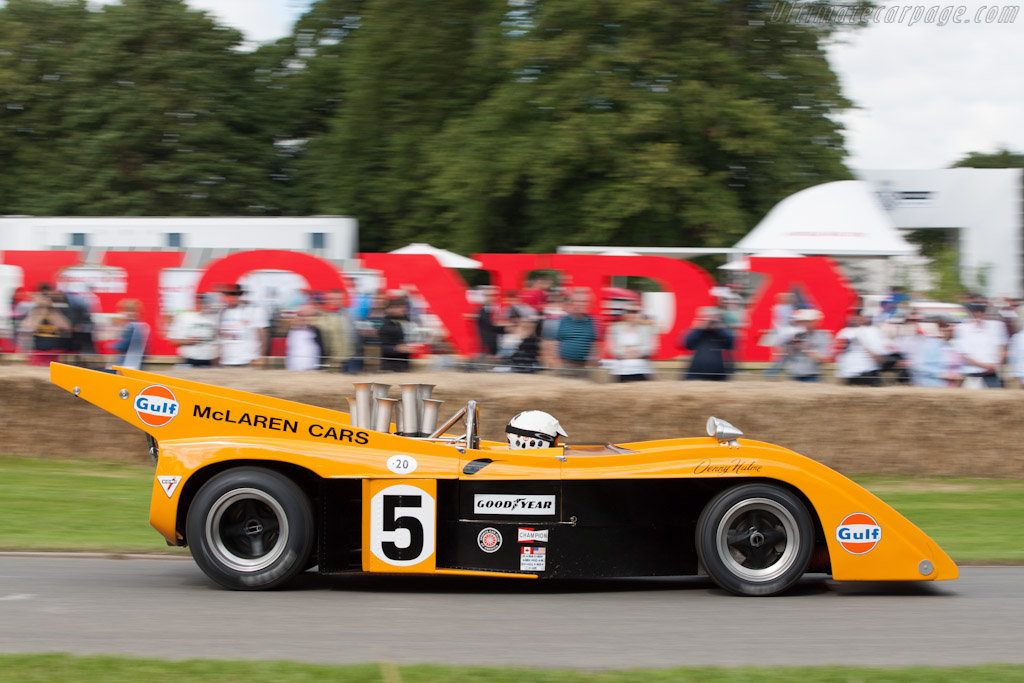 McLaren M20 Chevrolet - Chassis: M20-3   - 2012 Goodwood Festival of Speed