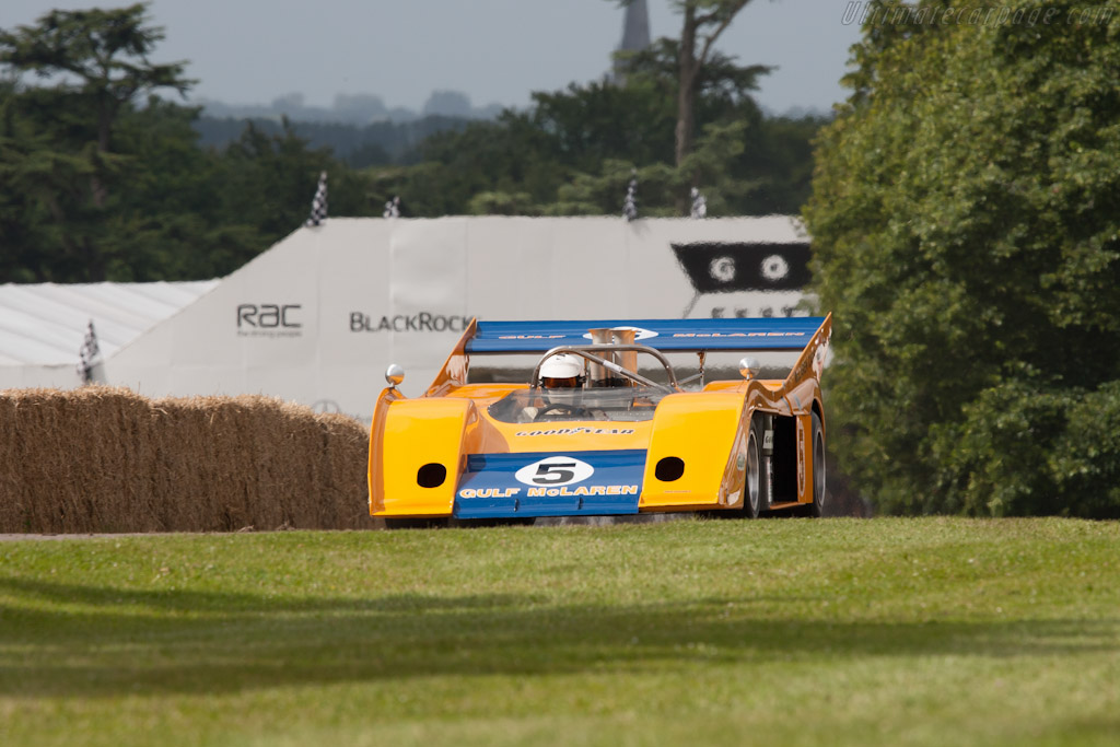 McLaren M20 Chevrolet - Chassis: M20-3   - 2012 Goodwood Festival of Speed