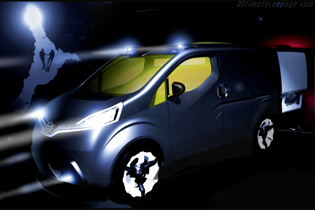 Click here to open the Nissan NV200 Concept gallery
