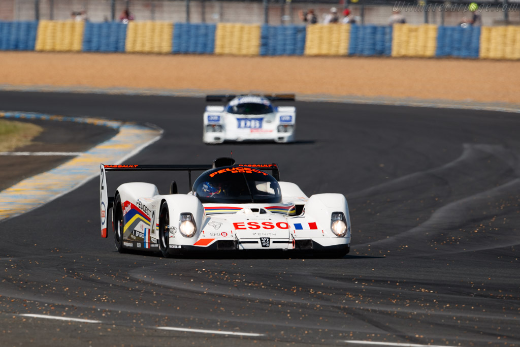 Peugeot 905 Evo 1 Bis - Chassis: EV16   - 2018 Le Mans Classic