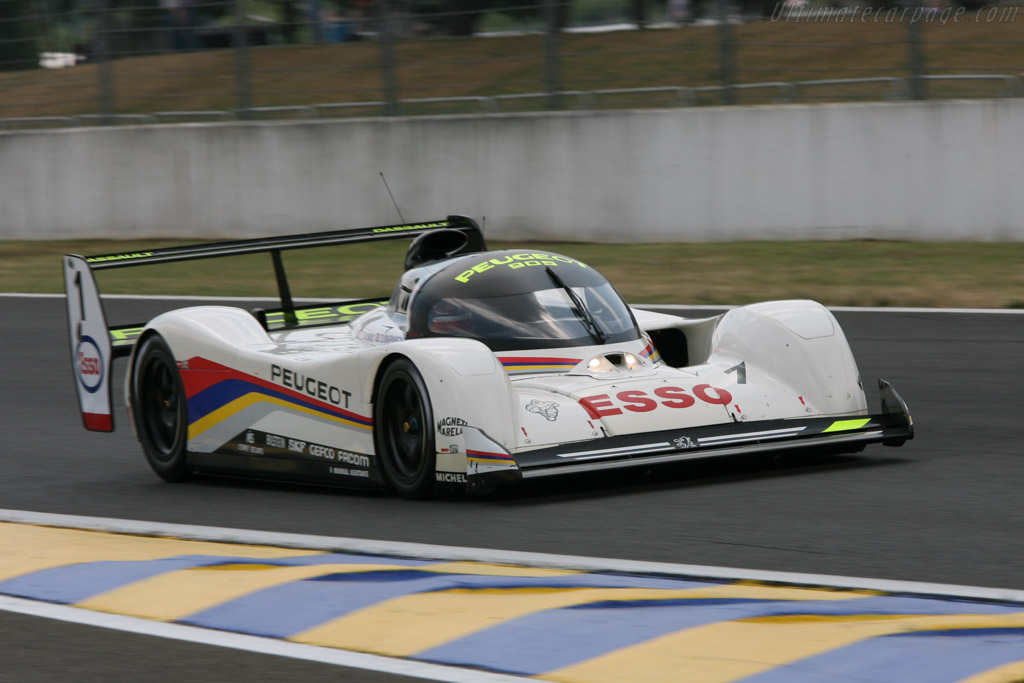 Peugeot 905 Evo 1 Bis Chassis Ev15 2006 Le Mans Classic
