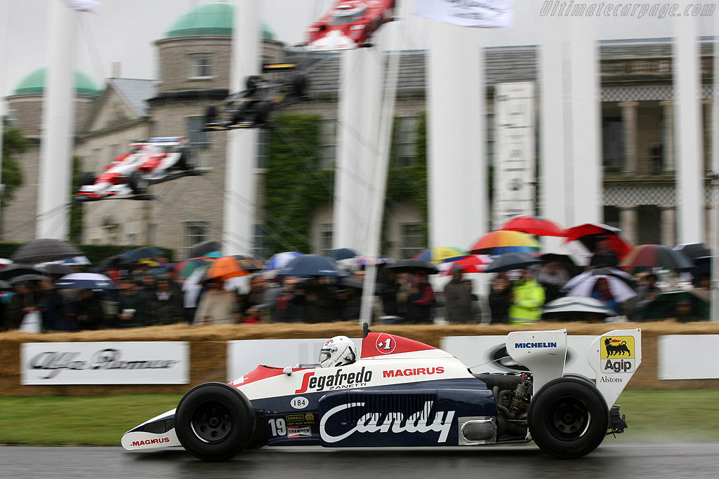 Toleman TG 184 Hart - Chassis: TG184-01   - 2007 Goodwood Festival of Speed