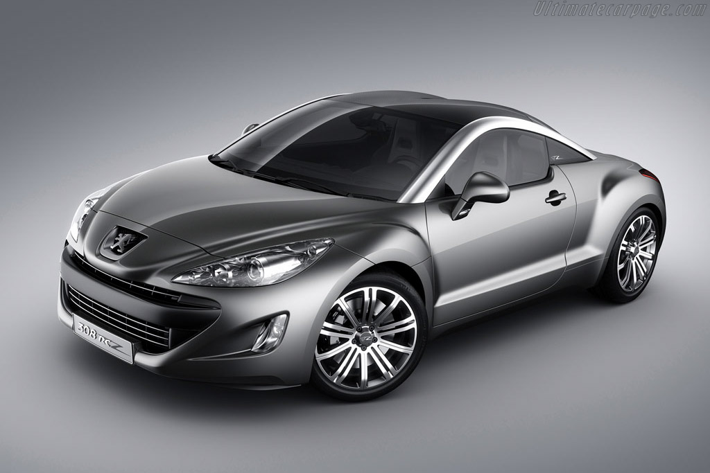 Click here to open the Peugeot 308 RC Z Concept gallery