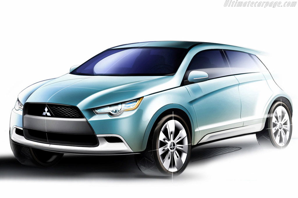 Click here to open the Mitsubishi Concept cX gallery