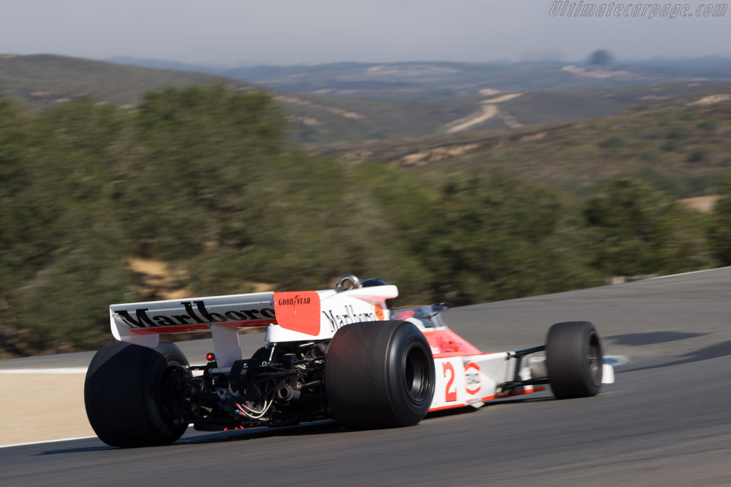McLaren M23 Cosworth - Chassis: M23-12  - 2008 Monterey Historic Automobile Races