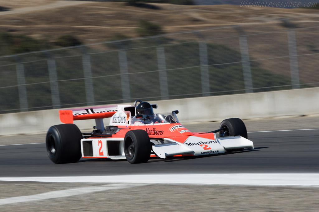 McLaren M23 Cosworth - Chassis: M23-12  - 2008 Monterey Historic Automobile Races