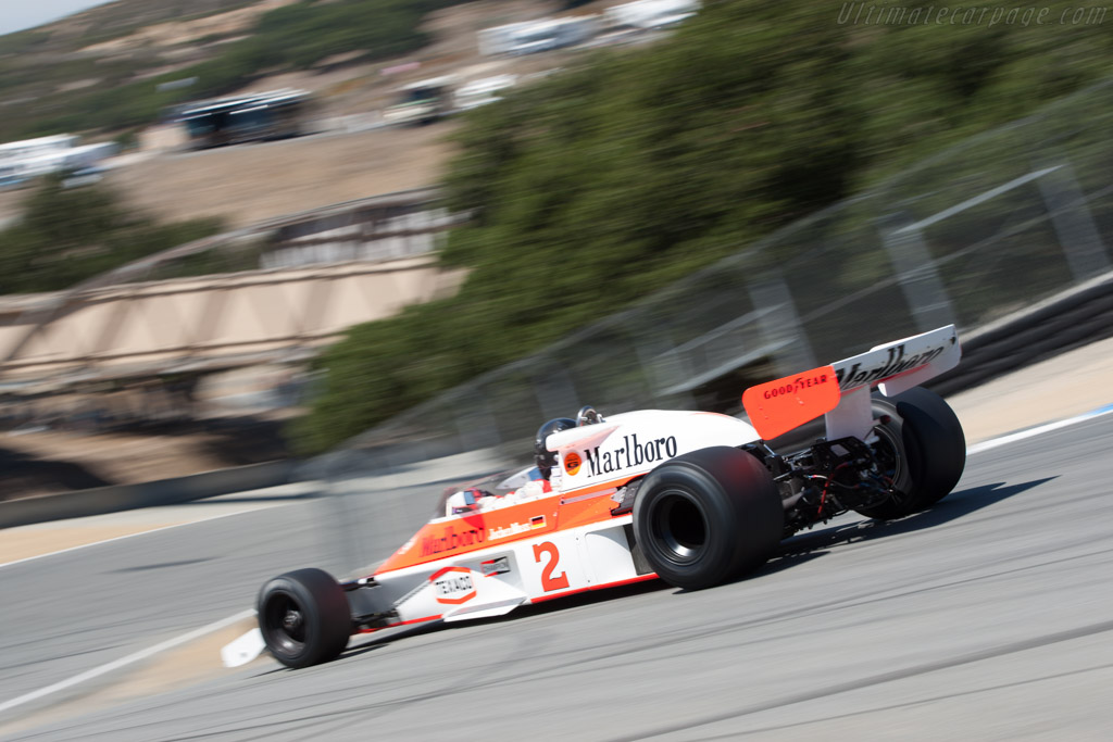 McLaren M23 Cosworth - Chassis: M23-12   - 2011 Monterey Motorsports Reunion