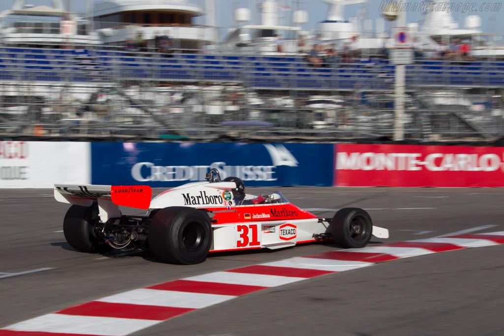 McLaren M23 Cosworth - Chassis: M23-12   - 2014 Monaco Historic Grand Prix