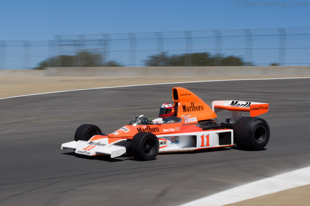 McLaren M23 Cosworth - Chassis: M23-9   - 2008 Monterey Historic Automobile Races