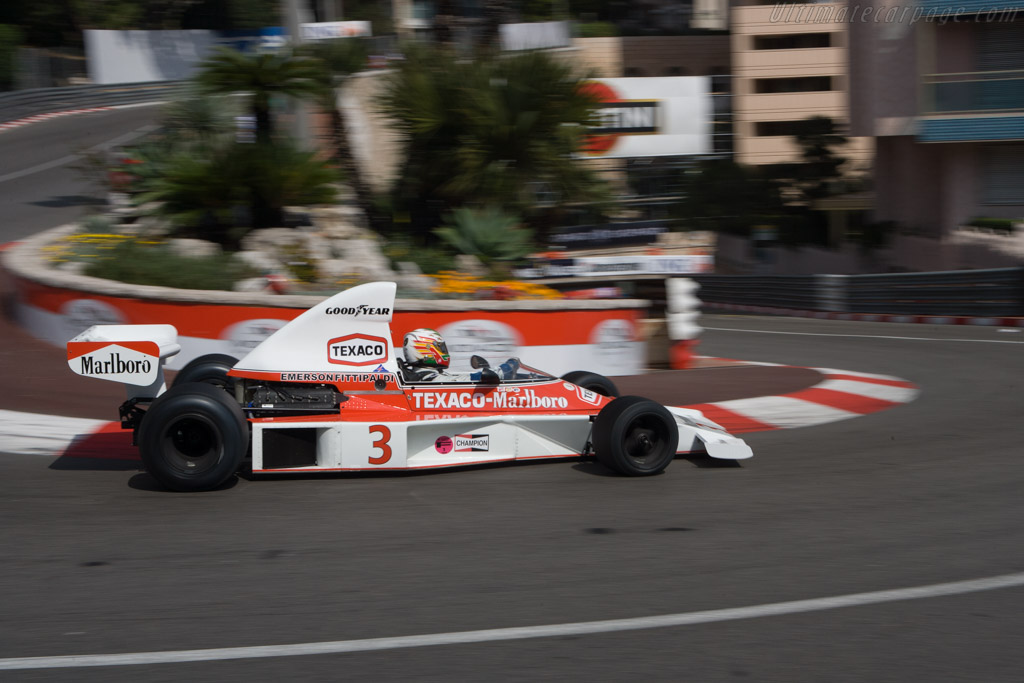 McLaren M23 Cosworth - Chassis: M23-8   - 2008 Monaco Historic Grand Prix