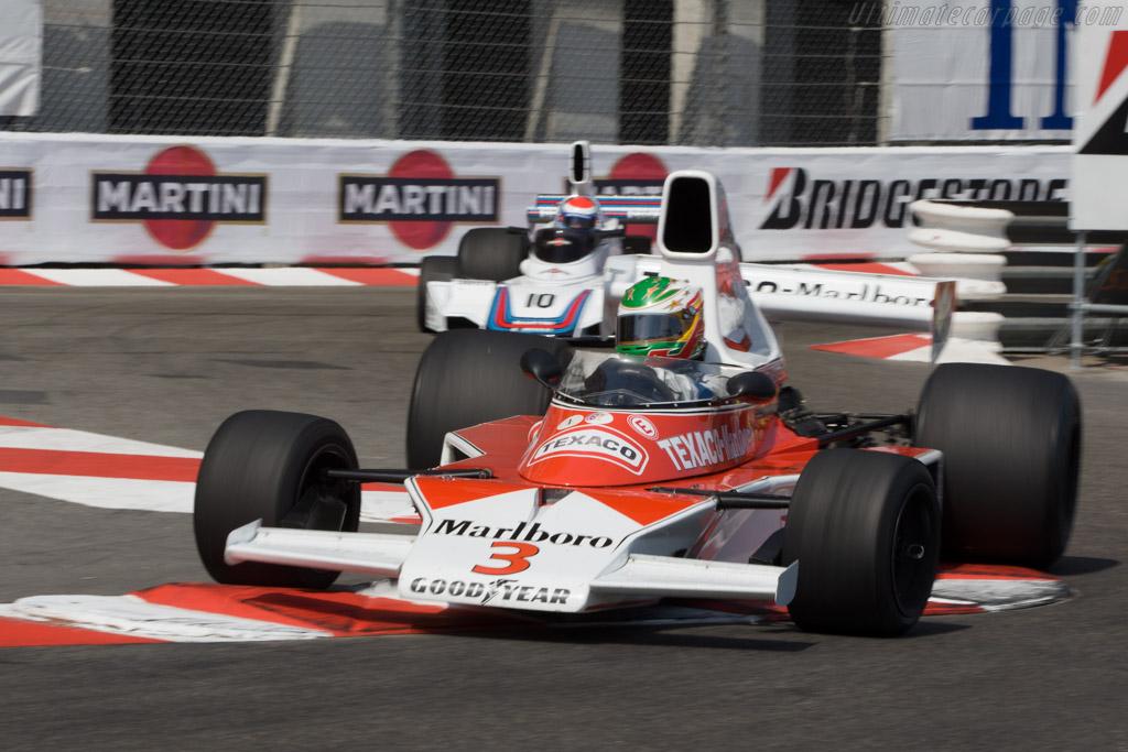 McLaren M23 Cosworth - Chassis: M23-8   - 2008 Monaco Historic Grand Prix