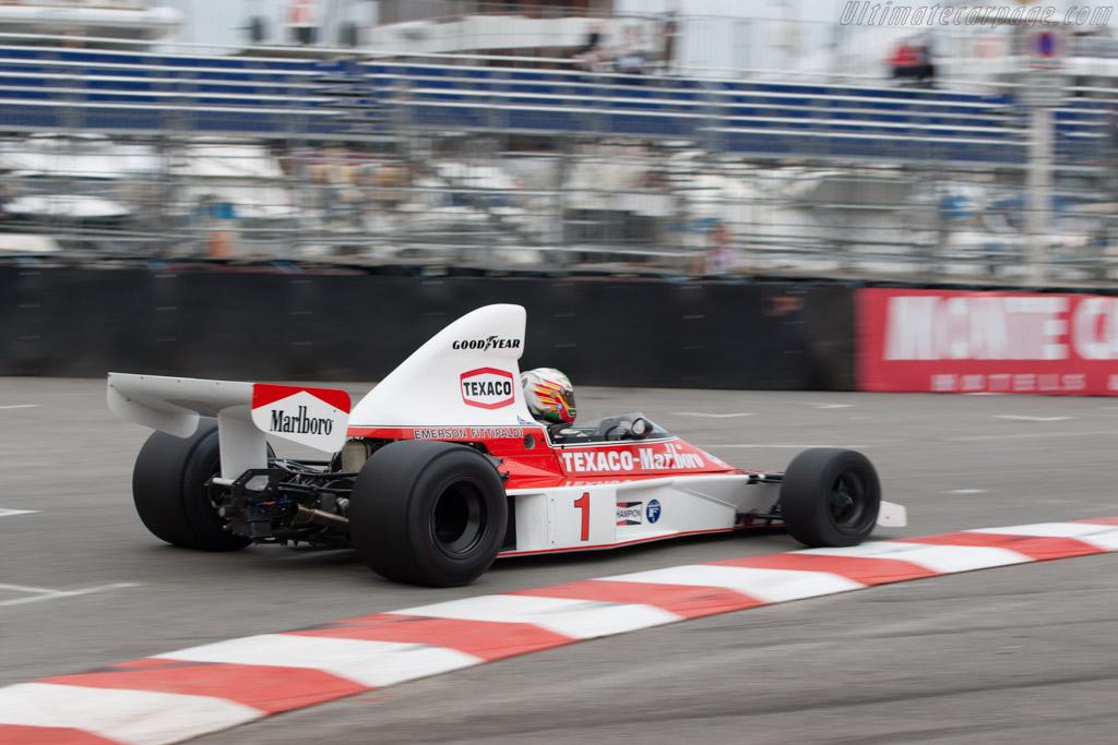 McLaren M23 Cosworth - Chassis: M23-8   - 2010 Monaco Historic Grand Prix