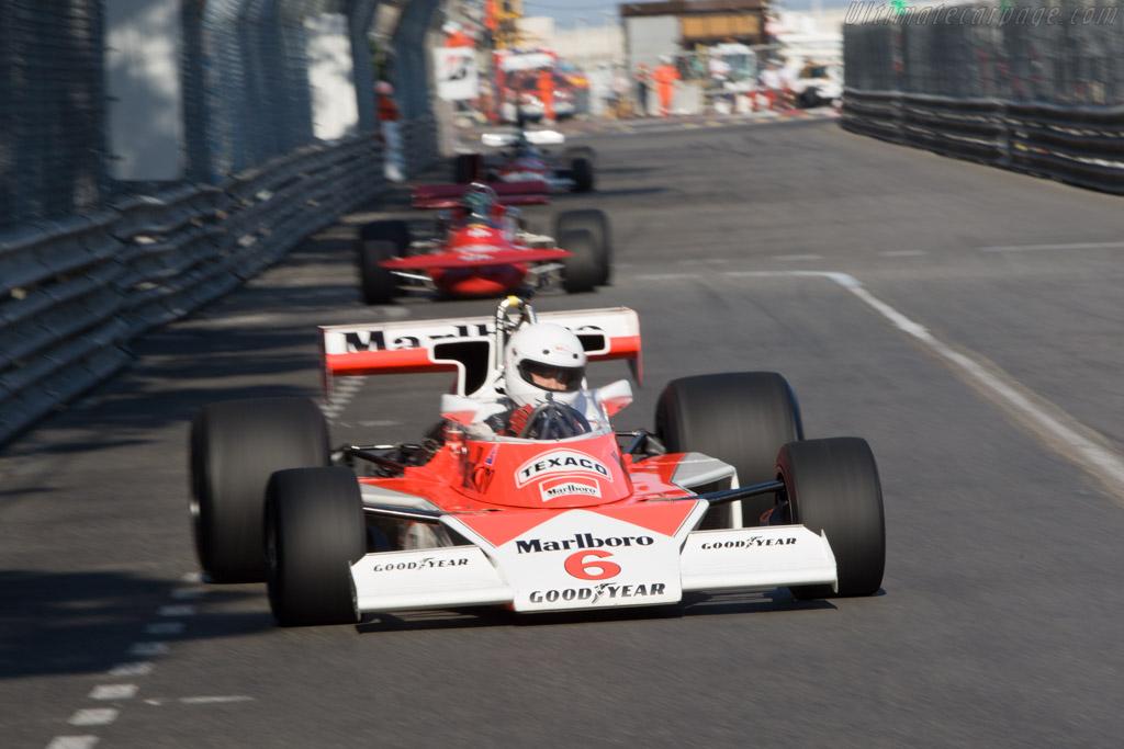 McLaren M23 Cosworth - Chassis: M23-6   - 2008 Monaco Historic Grand Prix