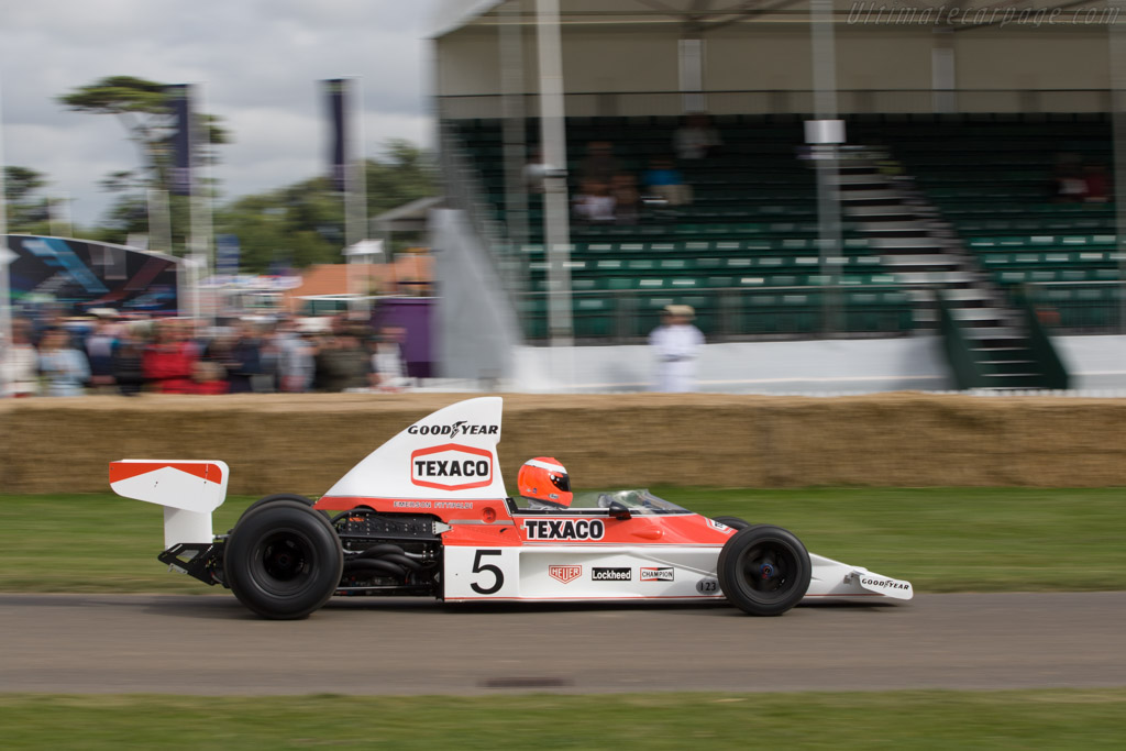 McLaren M23 Cosworth - Chassis: M23-5 - Driver: Chris Goodwin  - 2008 Goodwood Festival of Speed