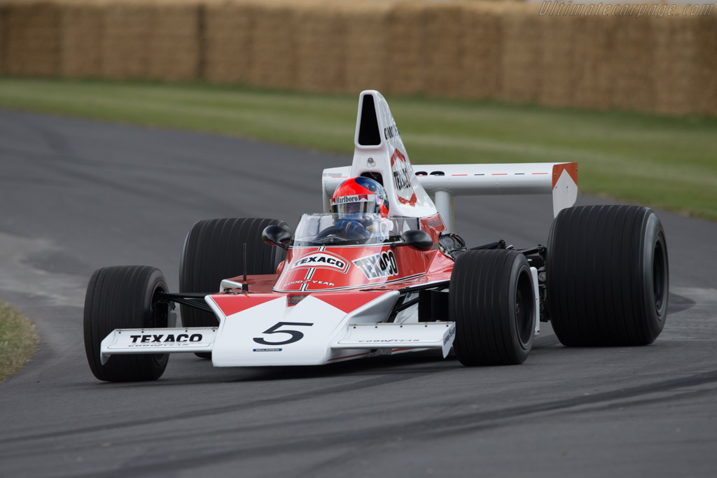 McLaren M23 Cosworth - Chassis: M23-5 - Driver: Emerson Fittipaldi  - 2014 Goodwood Festival of Speed