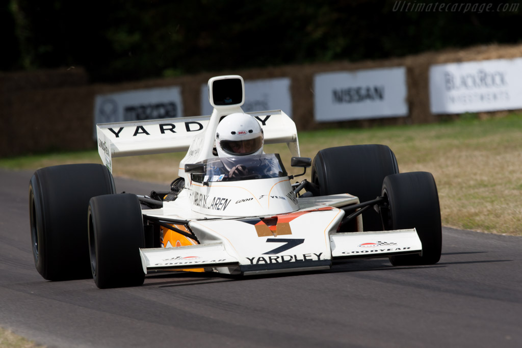 McLaren M23 Cosworth - Chassis: M23-1   - 2009 Goodwood Festival of Speed