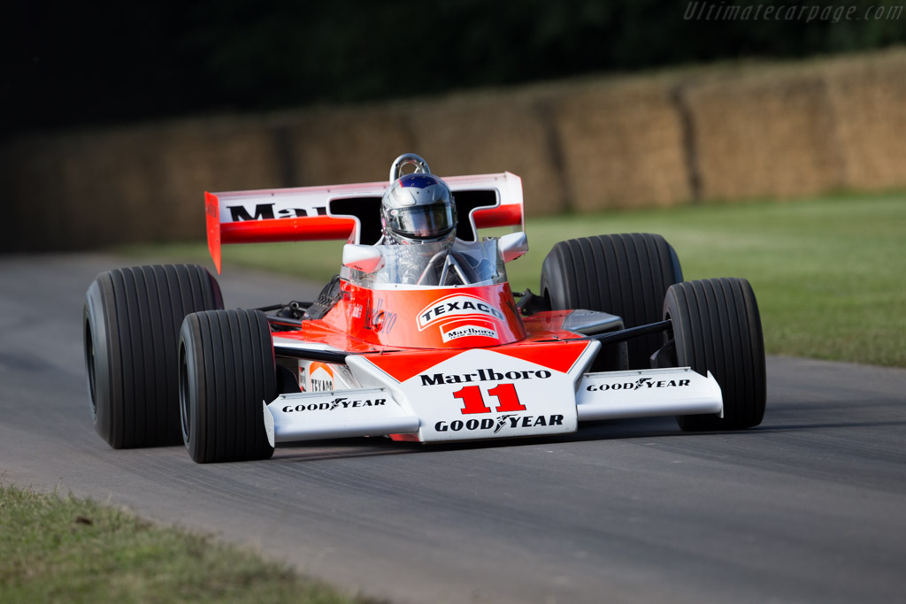 McLaren M23 Cosworth (Chassis M23-6 - 2016 Goodwood Festival of Speed) High Resolution Image