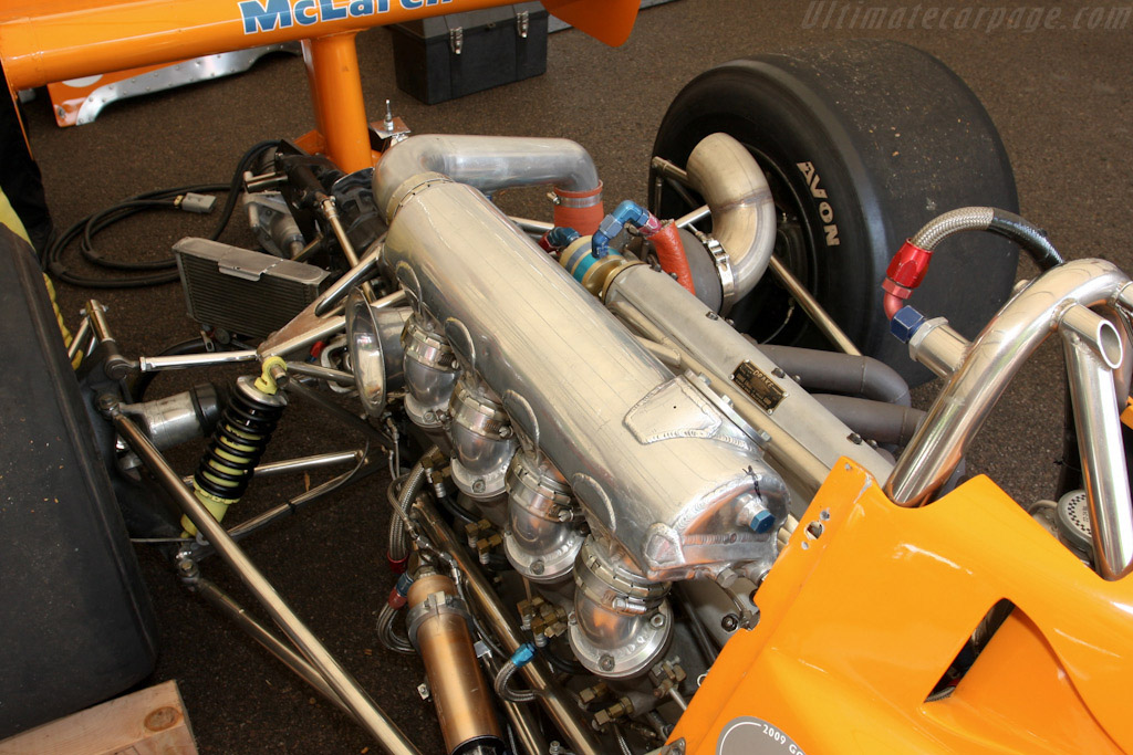 McLaren M16C/D Offenhauser - Chassis: M16C/5   - 2009 Goodwood Festival of Speed