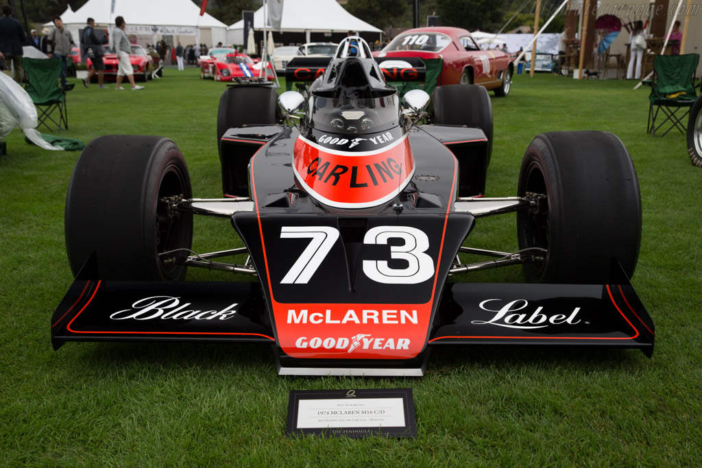 McLaren M16C/D Offenhauser - Chassis: M16C/6   - 2016 The Quail, a Motorsports Gathering